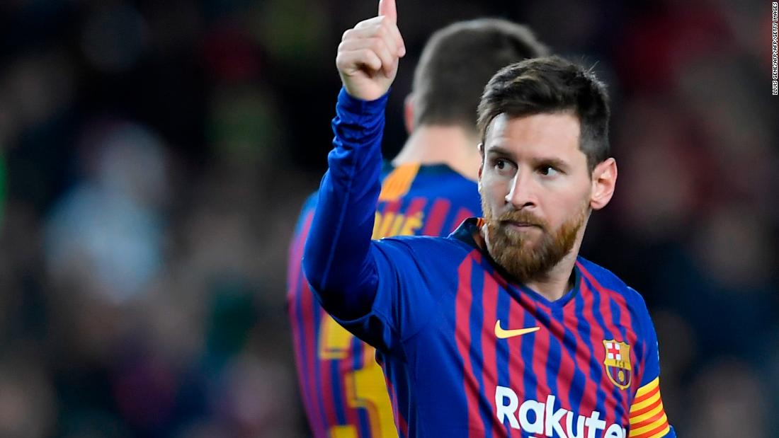 Messi breaks yet another record by hitting his 400th LaLiga goal
